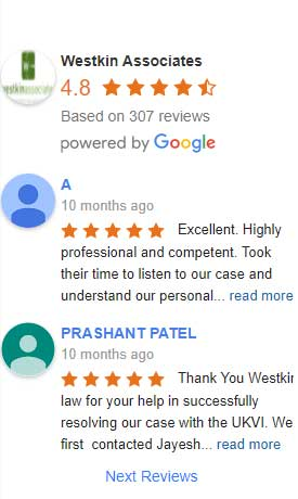 Five Stars Google Review